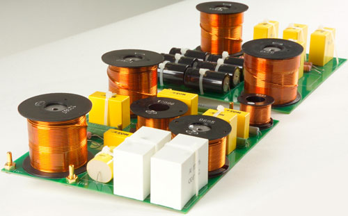 Canton Vento Reference 7 Floorstanding Speaker crossover network