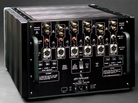 Jeff Rowland Design Group Mc 606 Amplifier Review