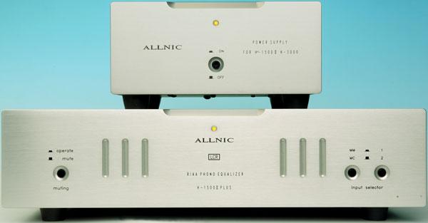 Allnic H1500 II phono preamplifier