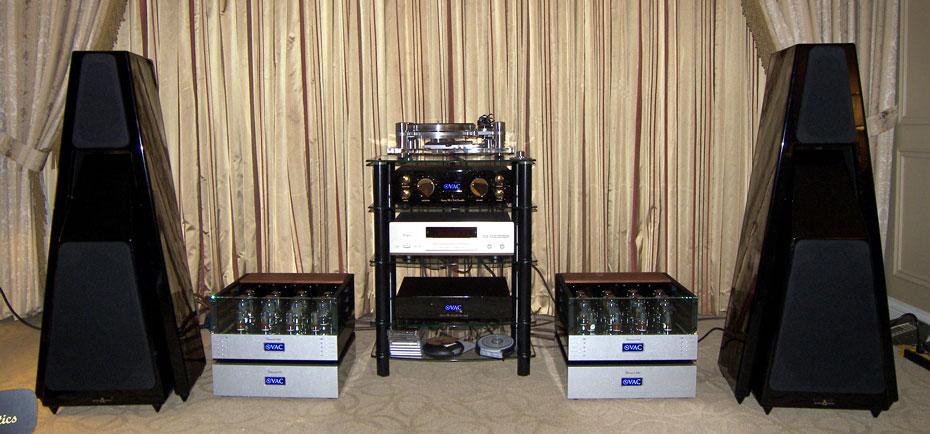 Gershman Acoustics/VAC (Valve Amplification Company) room