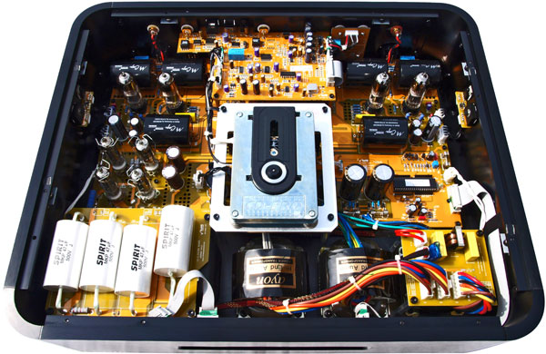 Inside the Ayon CD-5 Reference CD Player