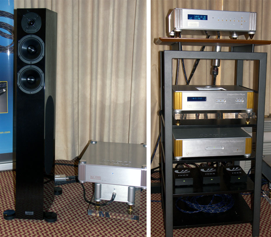 Inex Innovation Amplicables - Audio Physic Scorpio II