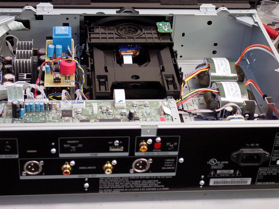 Terra Firma Lite Clock module (upper left, next to transport mechansim)