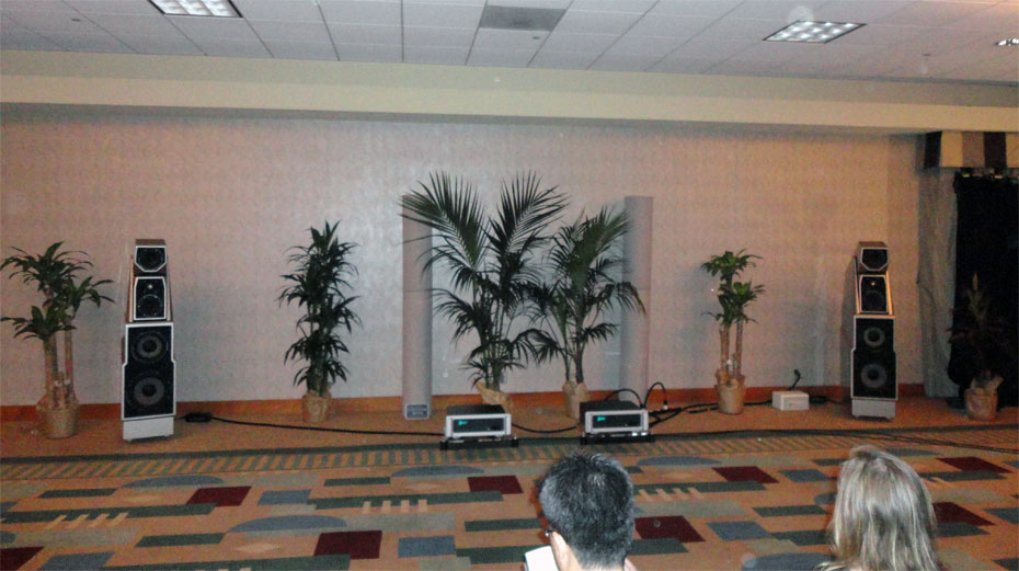 Wilson Maxx 3 speakers with Spectral DMA 360 Series 2 Mono Amps