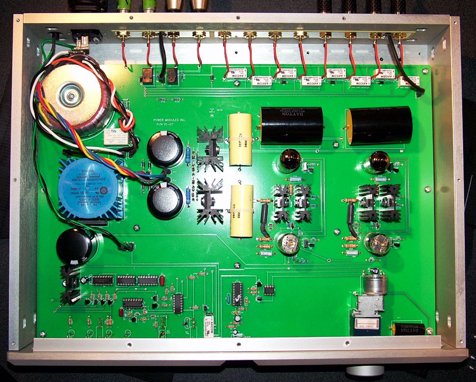 Belles Power Modules Statement Series VT-01 tube preamplifier