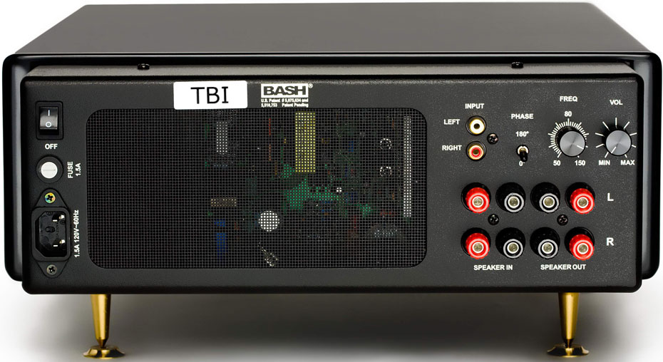 TBI Audio Systems Magellan VIP su Active Subwoofer System Control Panels