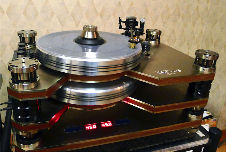 Kronos Counter-Rotating Dual Patter Turntable