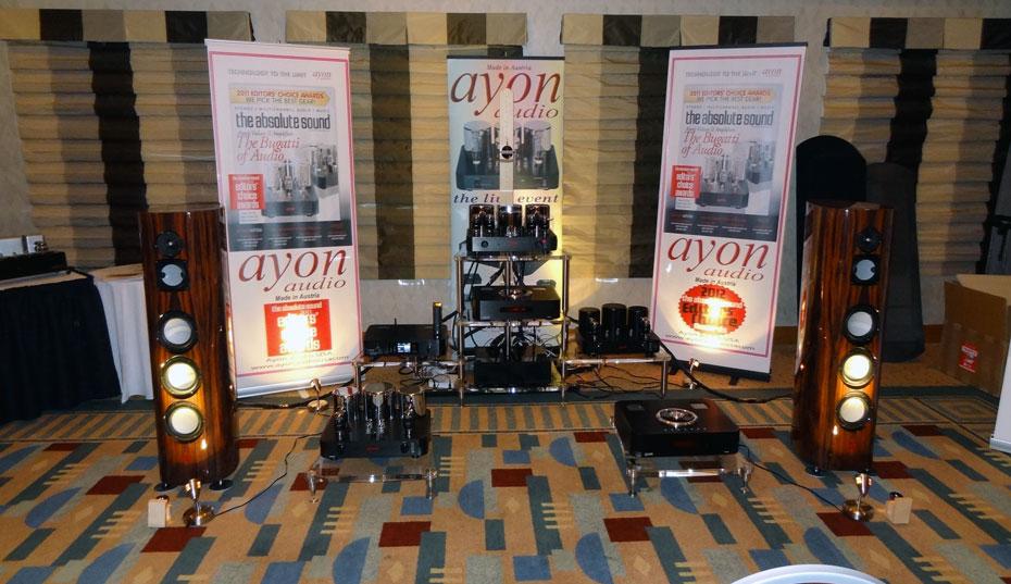 Lumenwhite speakers/Ayon