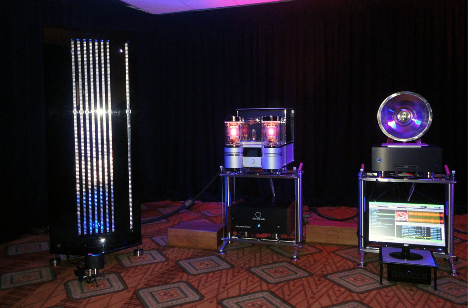 Memory Player, TNT Amps, Pure Power Conditioning and Novum Resonator