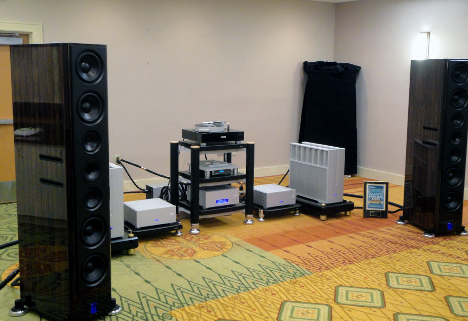 Aaudio Imports system with Lansche No.7 Loudspeakers and Ypsilon electronics