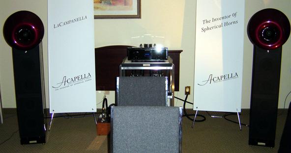 Acapella La Campanella Speakers at CES 2005