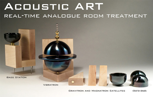 Synergistic Research Acoustic ART Real-Time Analogue Room Treatment