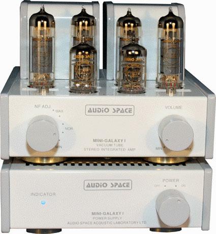 Audio Space Mini-Galaxy 1 USB DAC integrated tube amplifier
