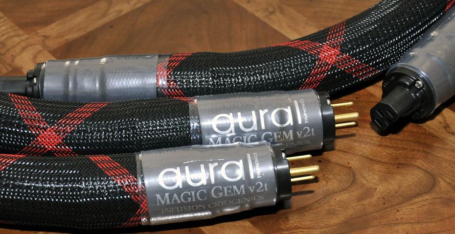 Aural Symphonics Magic Gem v2t Power Cables