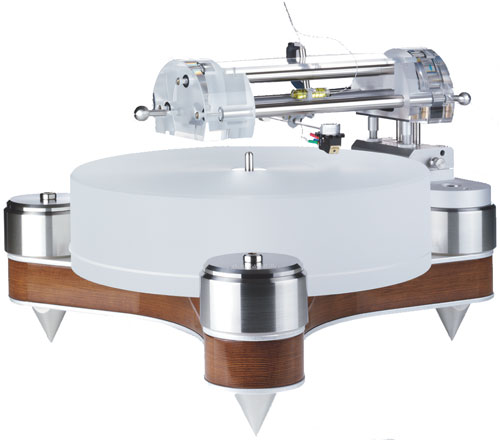 Clearaudio Anniversary AMG Wood CMB Turntable