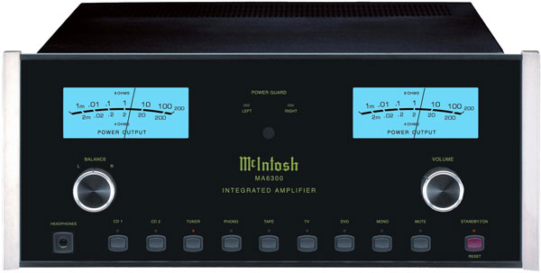 McIntosh MA6300 Solid-State Integrated Amplifier