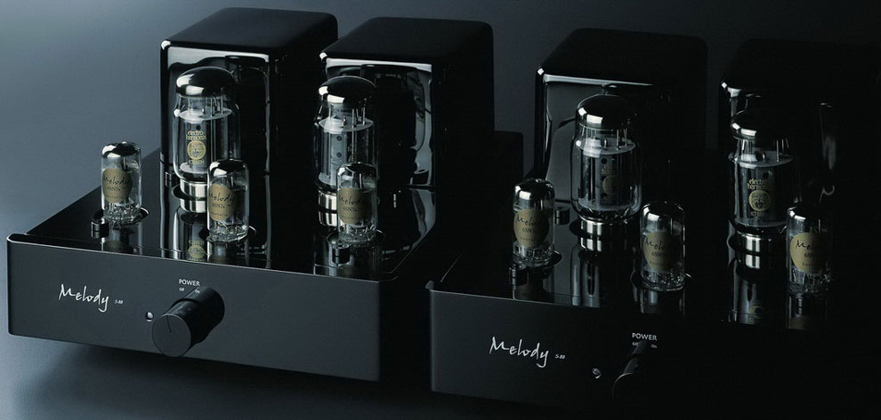 Melody Valve HiFi S88 mono blocks tube amplifiers