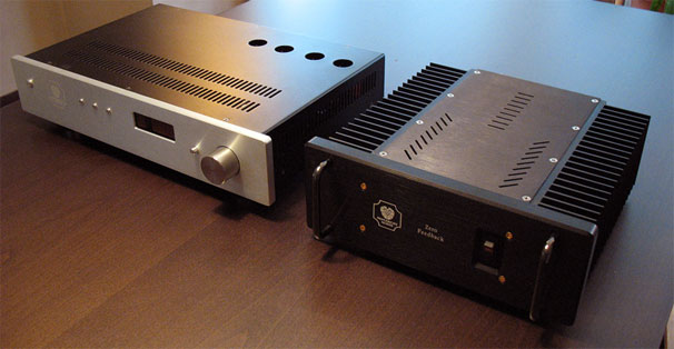 Monarchy Audio M24 tube DAC-line tube preamp and SM-70PRO stereo power amplifier