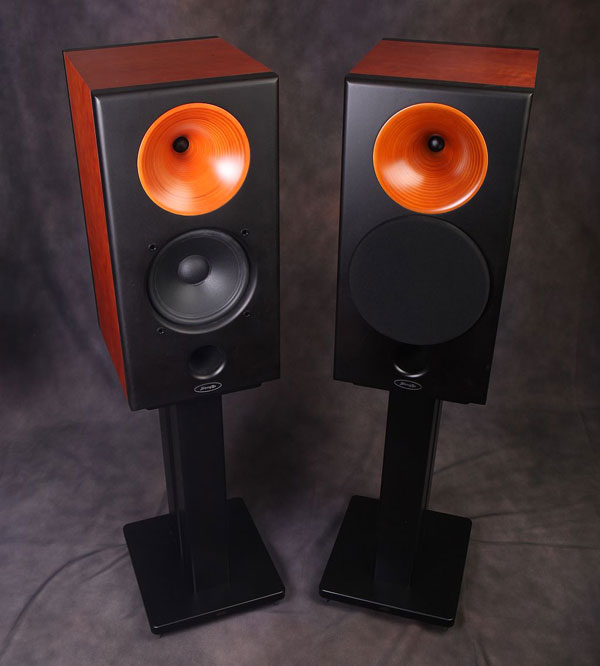 speaker pair monitor p audio white speakers audiophile silver satin products bookshelf preview view