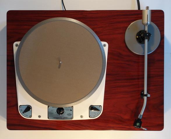 Shindo Garrard turntable