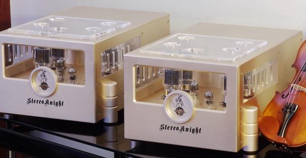 StereoKnight M75 mono block tube amplifiers