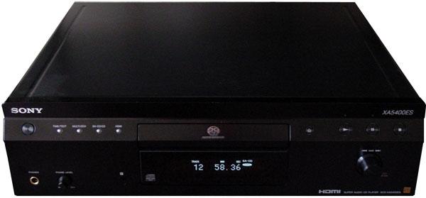 Vacuum State Sony SCD-XA5400ES Clock Upgrade