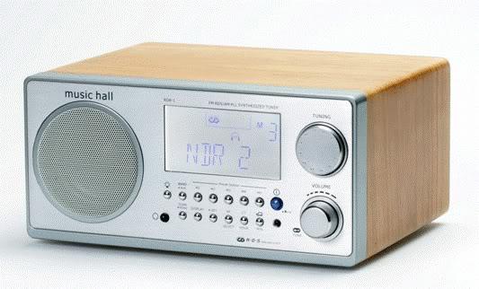 Music Hall's $199 RDR-1 FM Radio Clock