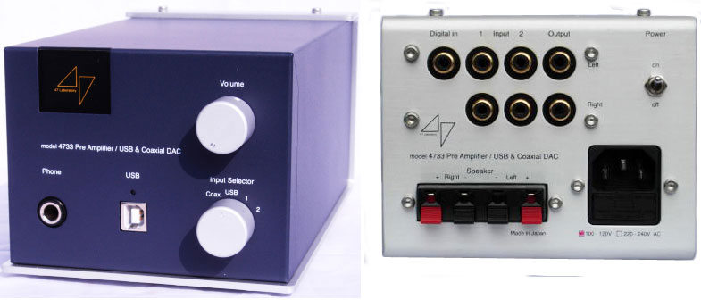 47Labs 4733 Headphone Amplifier