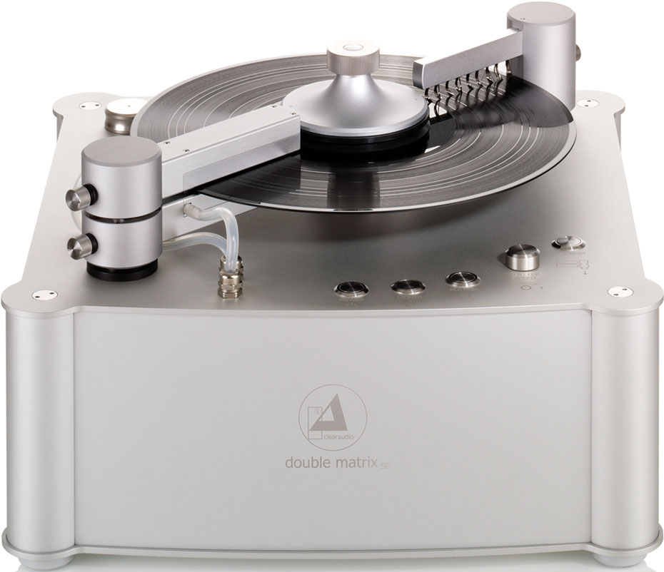 Clearaudio Double Matrix Professional record cleaning system