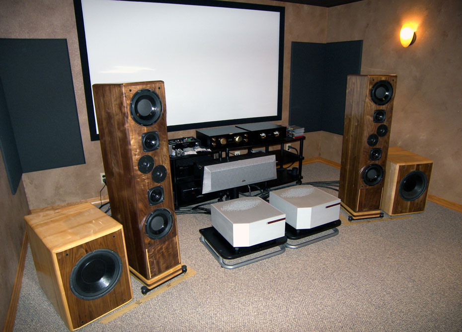 Daedalus Audio Ulysses speaker and Bass Optimization Woofer System