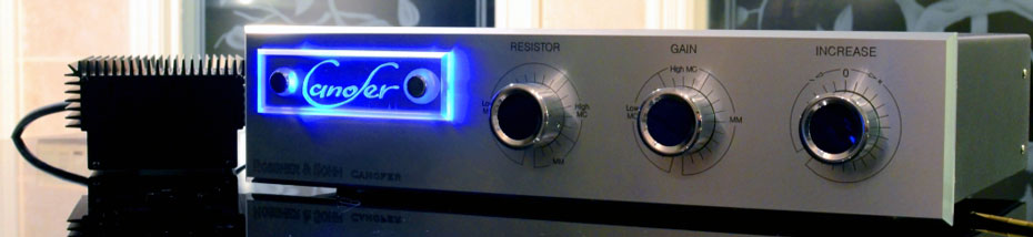 Rossner Sohn Canofer-S Phono Amplifier
