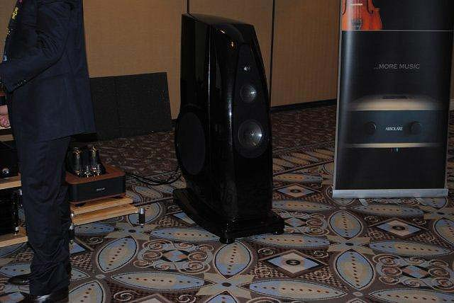 Rockport Altair II speakers at CES 2013