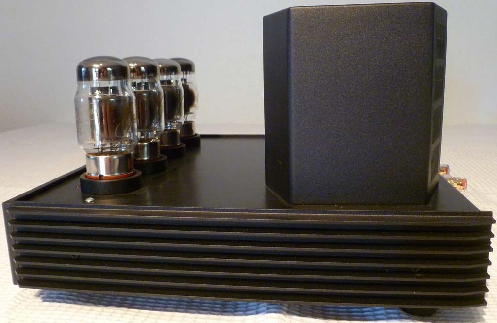 KR Audio VA880 Integrated Tube Amplifier Side View