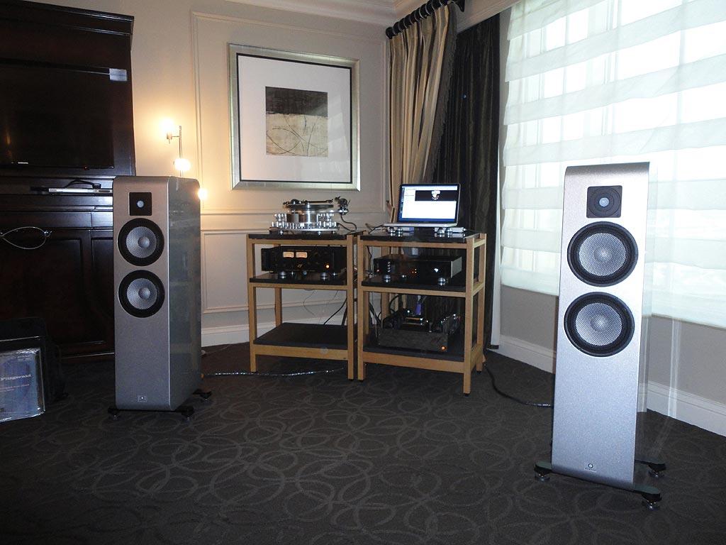 Ear USA room featuring Marten Django L Speakers