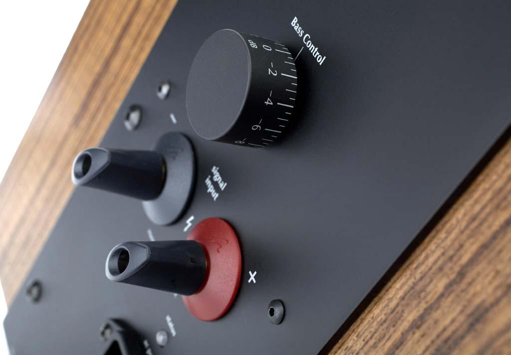 Martin Logan Ethos Bass Control knob and signal input