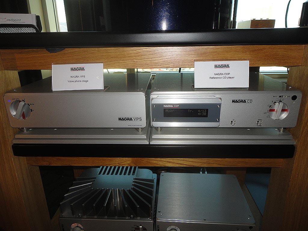 Nagra Valve Phono Stage and Nagra Reference CD Player