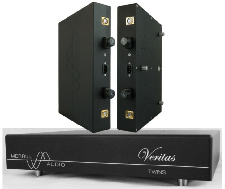 Merrill Audio Veritas Twins and Siamese Twins Amplifier