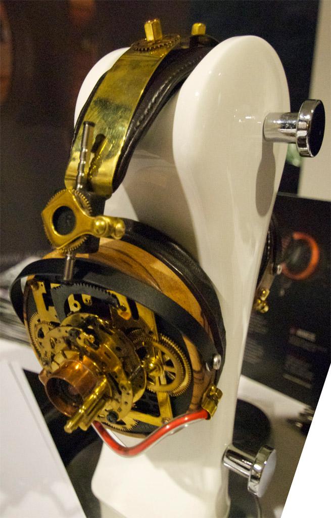 Audeze steampunk headphones