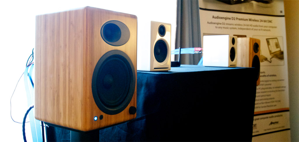 Audioengine 5+ and A2+ powered desktop speaker