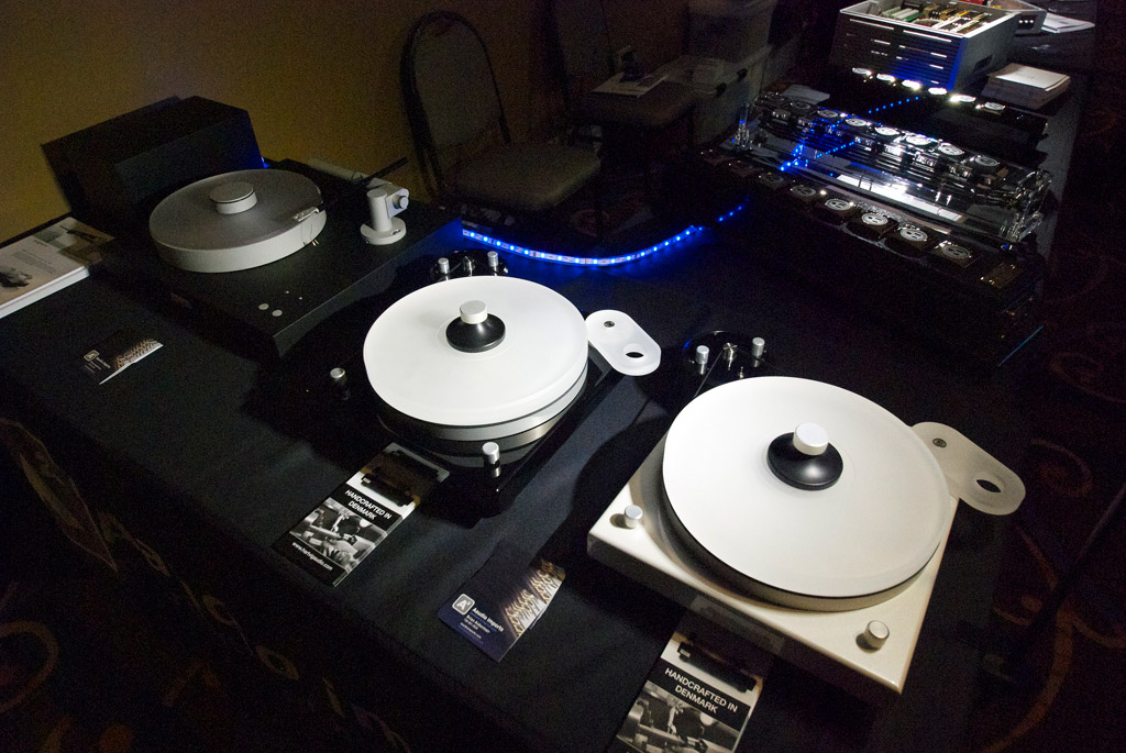 Aaudio Imports and Hartvig turntables