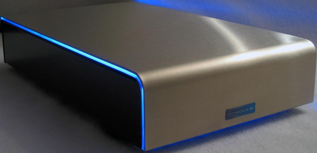 Seymour AV Ice Block 5001 Monoblock Class-D Blue Glow