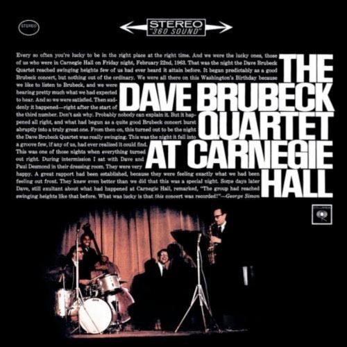 The Dave Brubeck Quartet at Carnegie Hall