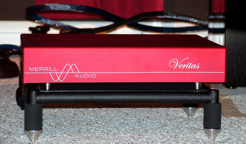 Merrill Audio Veritas Monoblock Amplifier Front