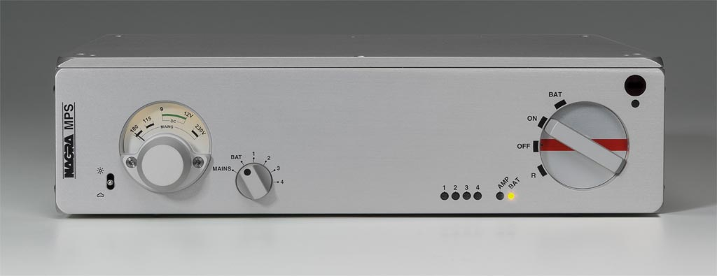 Audio Technology Switzerland Nagra MPS front view