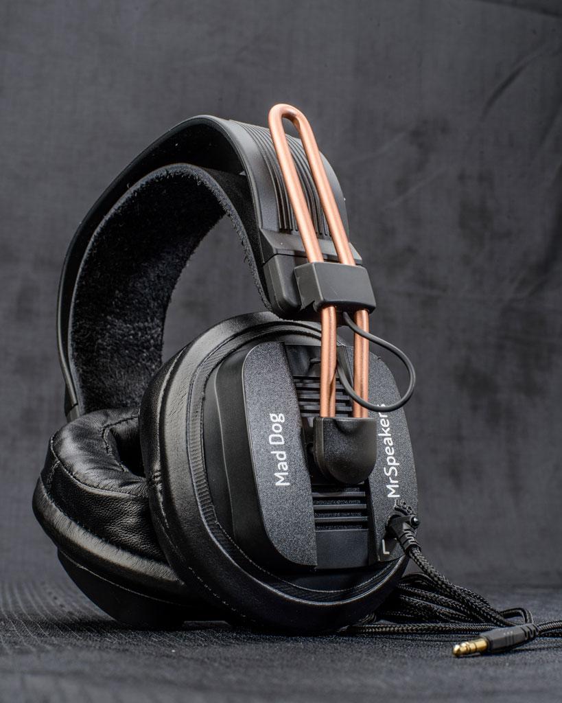 MrSpeakers Mad Dog Fostex T50RP Headphones
