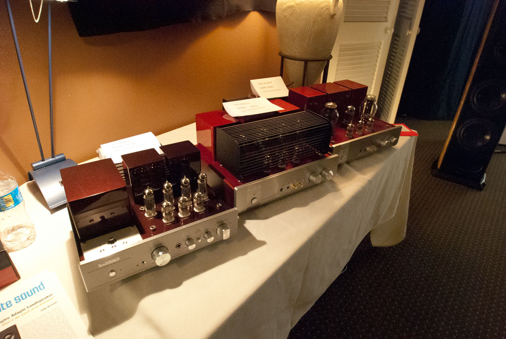 Triode Corporation of Japan amplifiers and Acoustic Zen -