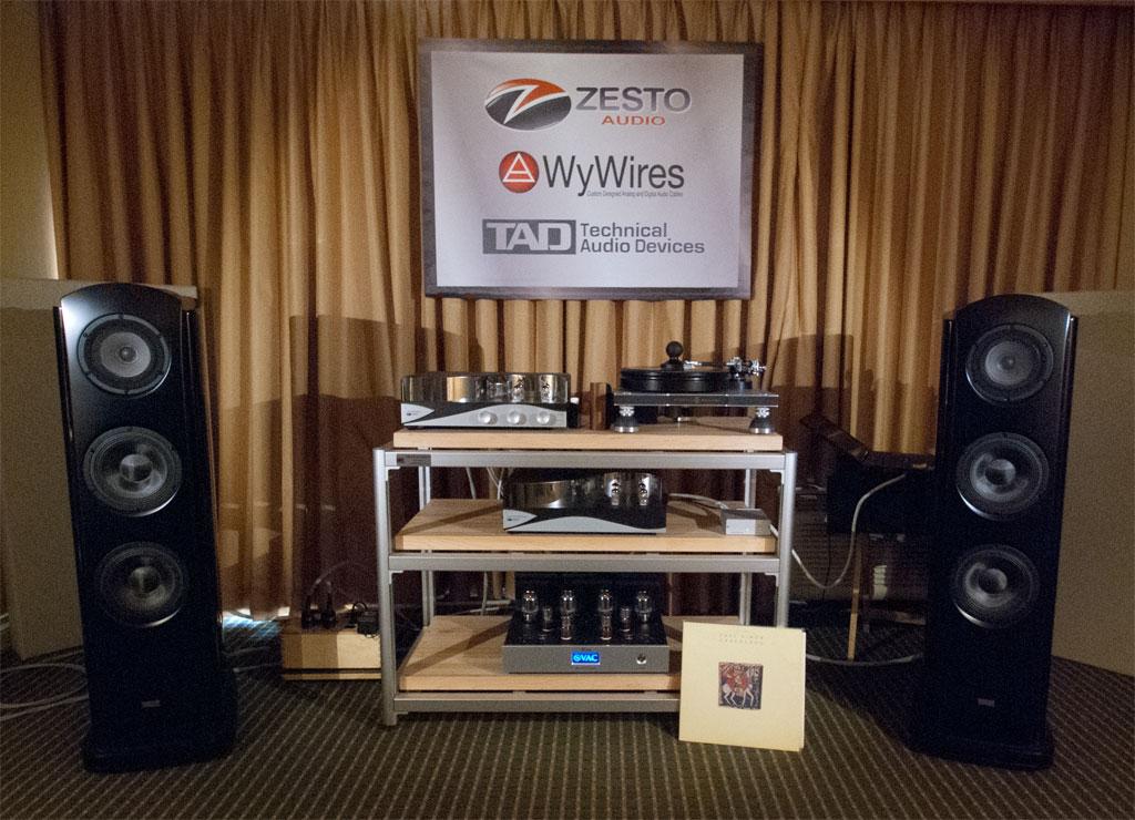 Zesto Audio - WyWires - TAD - Merrill turntable