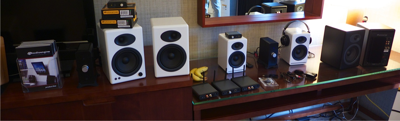 The other extreme, great little speakers from Audio Engine