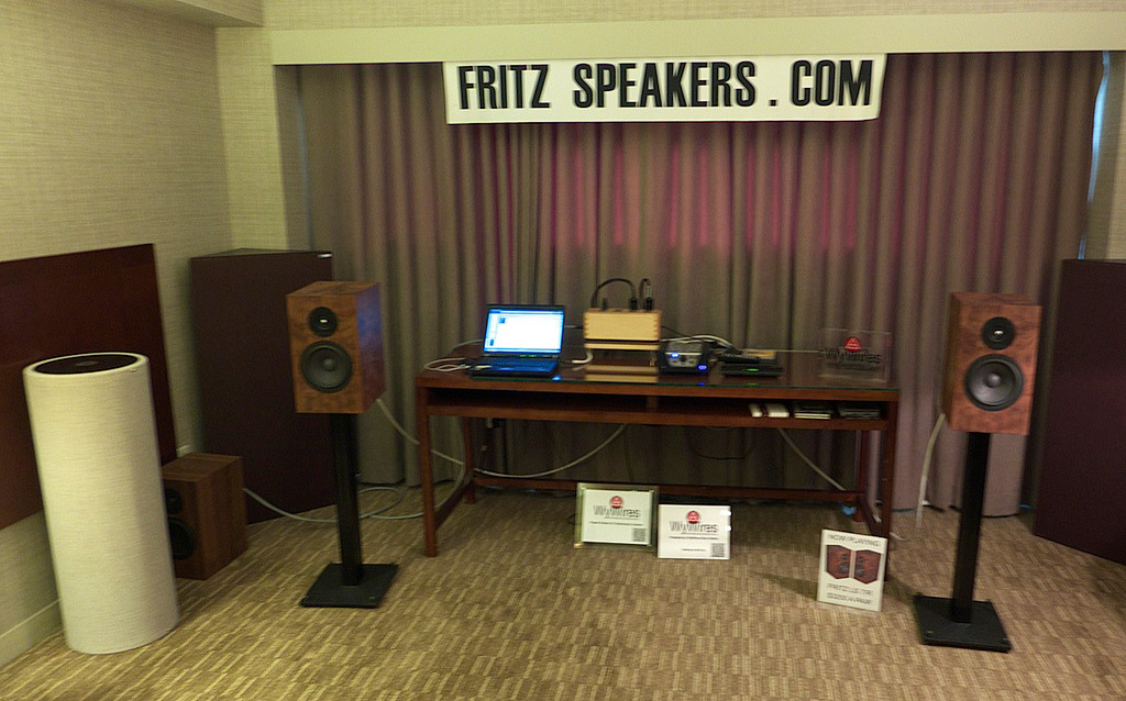 The Fritz Speakers and WyWires room