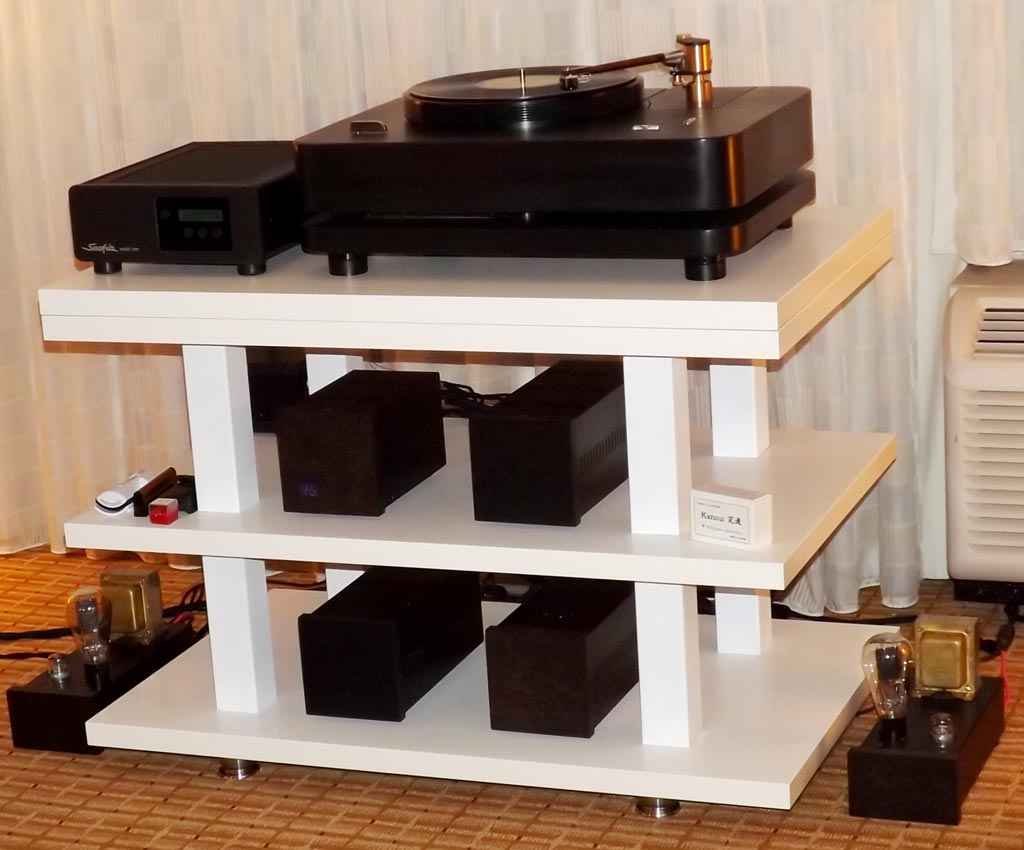 EMIA Permalloy type 50 tube amplifiers at RMAF 2013